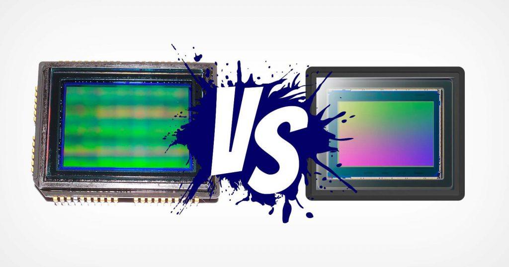 دوربین CCD و فرق آن با دوربین CMOS